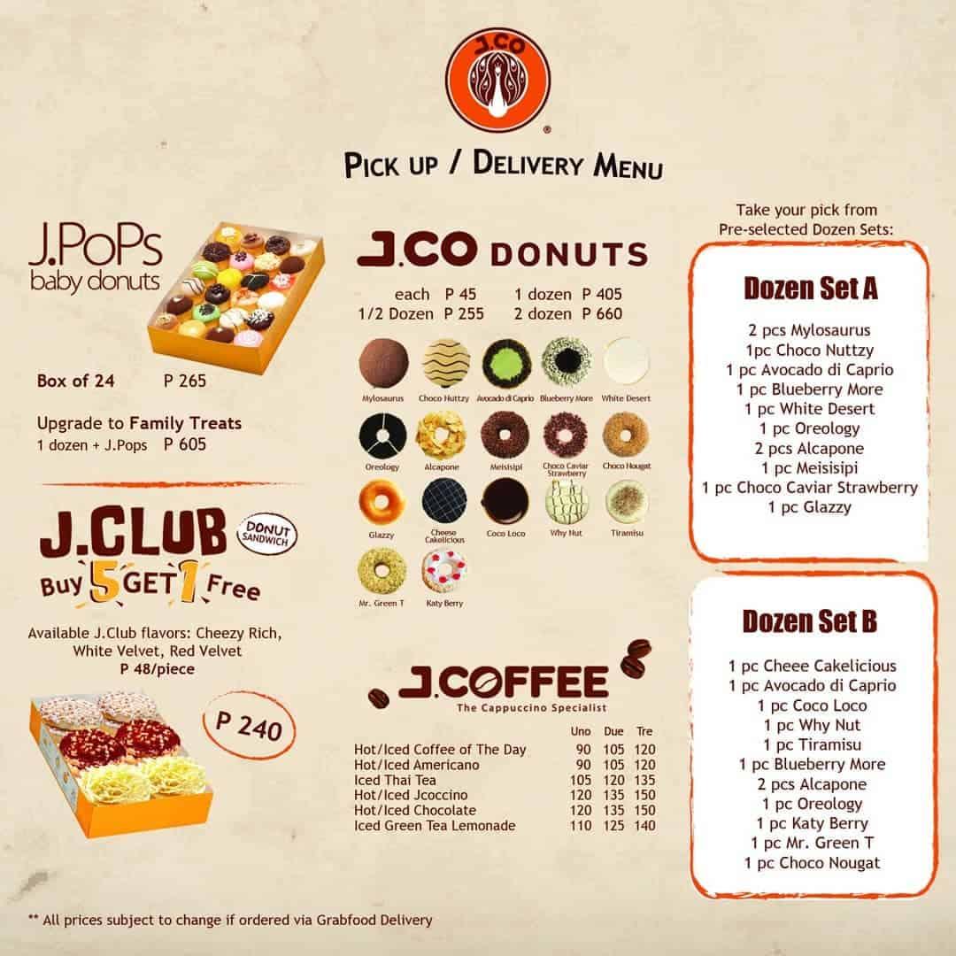 DONUT DELIVERY: Open Branches of Krispy Kreme, J.Co ...