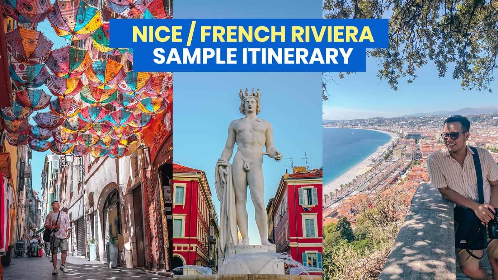 NICE ITINERARY: 28 Things to Do & Places to Visit (South of France)