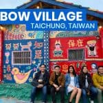 RAINBOW VILLAGE in TAICHUNG, TAIWAN: Travel Guide + How to Get There