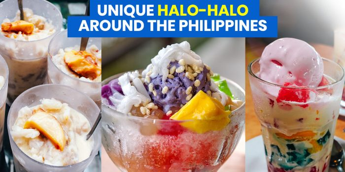 7 Unique HALO-HALO Versions around the Philippines