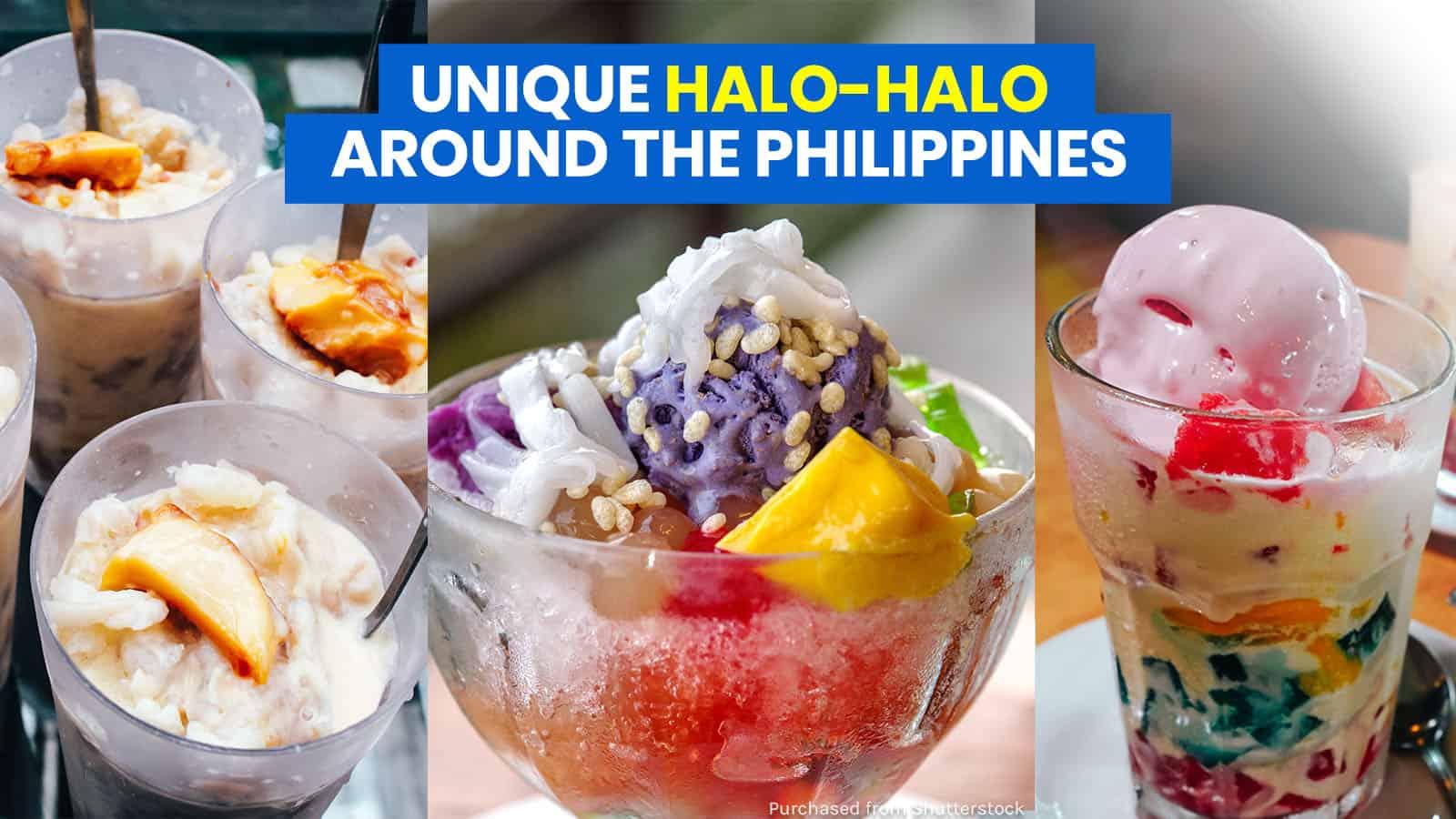 7 Unique HALO-HALO Versions around the Philippines