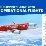AIRASIA PHILIPPINES: List of Operational Flights for June 2020