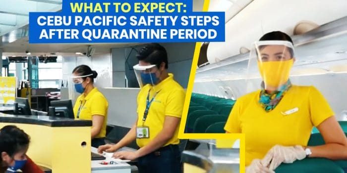 WHAT TO EXPECT when Flying with CEBU PACIFIC: New Normal