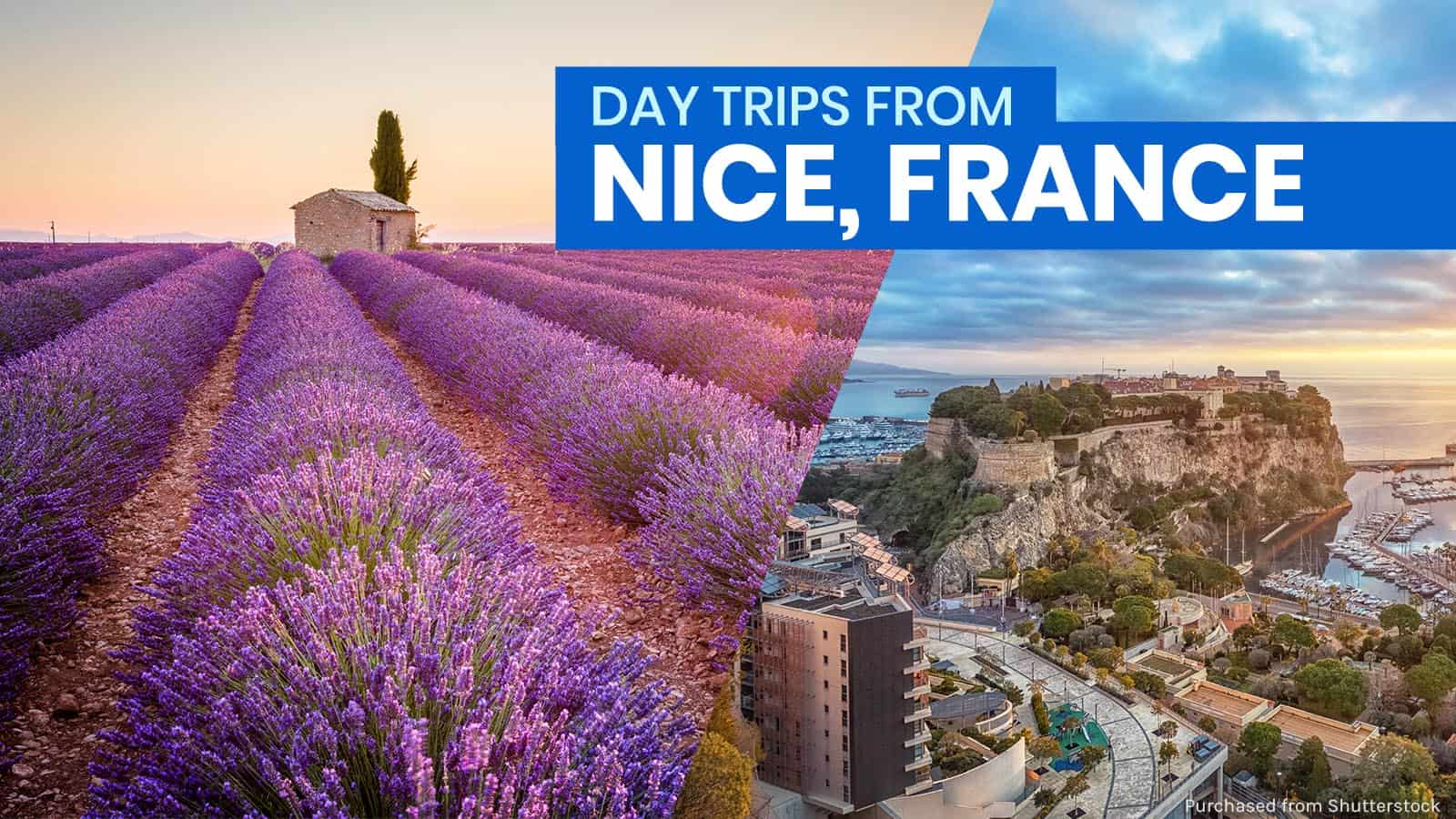 10 DAY TRIP DESTINATIONS FROM NICE, FRANCE