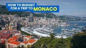MONACO TRAVEL GUIDE with Sample Itinerary & Budget