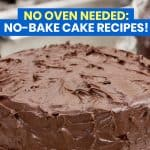 10 NO-BAKE CAKE RECIPES: No Oven Needed!