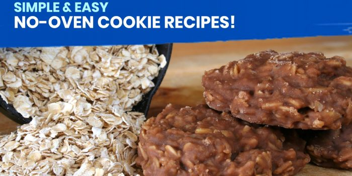 10 Simple and Easy NO-OVEN COOKIE RECIPES