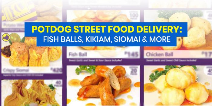 POTDOG STREET FOOD DELIVERY: Frozen Packs + How to Order