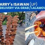 MANG LARRY's ISAWAN: Pickup & Delivery via Grab / LalaMove