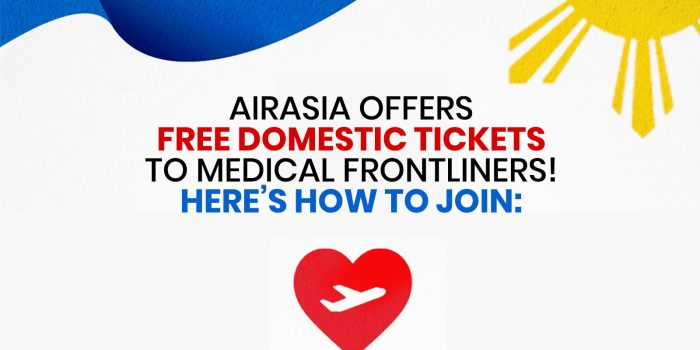 FREE AIRASIA TICKETS for Medical Frontliners: Here's How to Join!