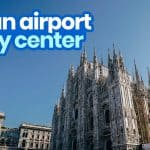 MILAN AIRPORT TO CITY CENTER: From Malpensa & Linate Airports by Bus & by Train