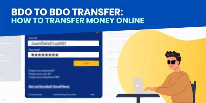 BDO to BDO: How to Transfer Money to Another BDO Account via Online Banking