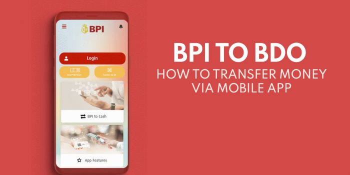 BPI to BDO: How to Transfer Money via BPI Mobile App