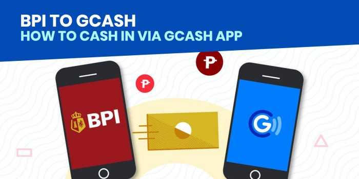 GCASH Cash In: How to Load Money from BPI via GCash App