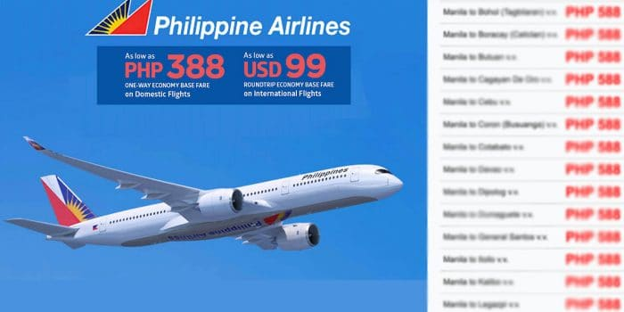 PHILIPPINE AIRLINES MID-YEAR SALE 2020: List of Covered Destinations – EXTENDED!