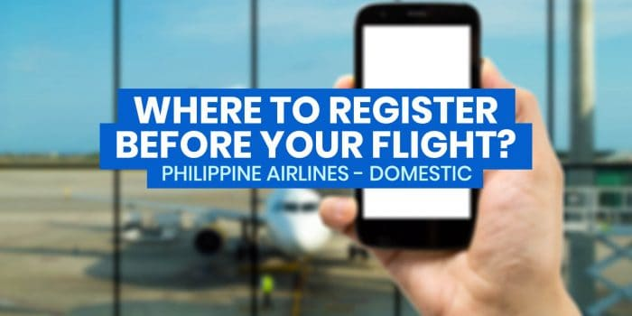 PASSENGER PROFILE & HEALTH DECLARATION FORM: How to Register Before Domestic Flight (Philippine Airlines)