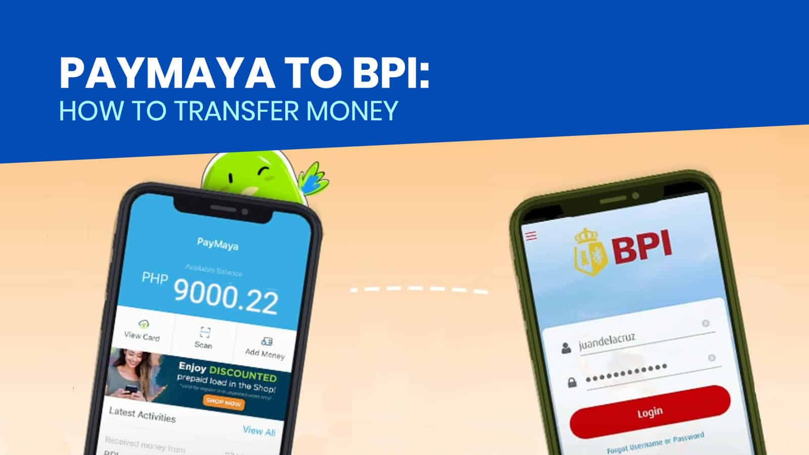PAYMAYA TO BPI: How to Transfer Money via PayMaya App