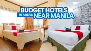 10 BUDGET HOTELS in AREAS NEAR MANILA (HygienePass Certified!)