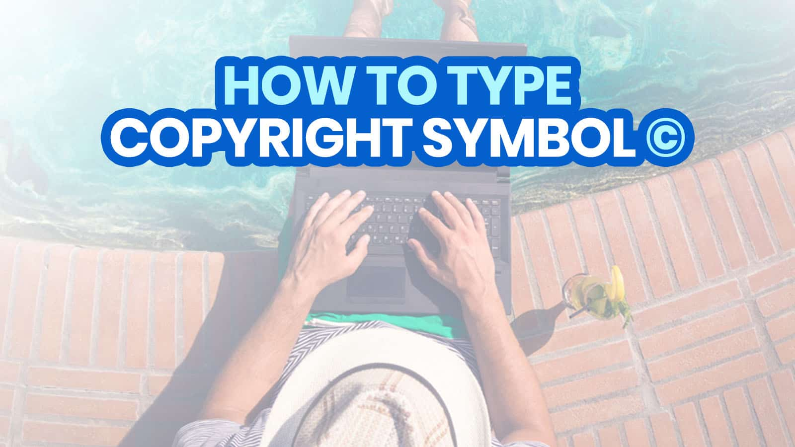HOW TO TYPE COPYRIGHT SYMBOL © on iPhone, Android, Word & Computer (with Keyboard Shortcuts)