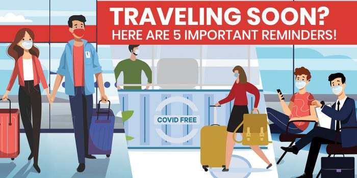 5 IMPORTANT REMINDERS If You're Traveling in the New Normal