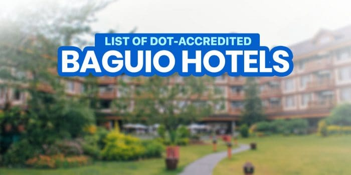 2021 List of DOT-Accredited Hotels in BAGUIO CITY