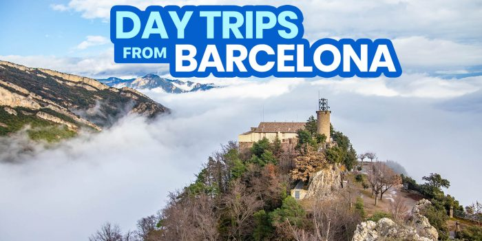 15 BEST DAY TRIPS FROM BARCELONA