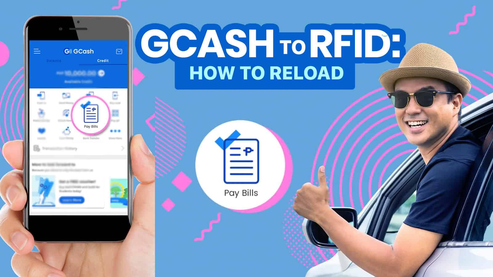 2021 HOW TO RELOAD EASYTRIP & AUTOSWEEP RFID Using GCASH