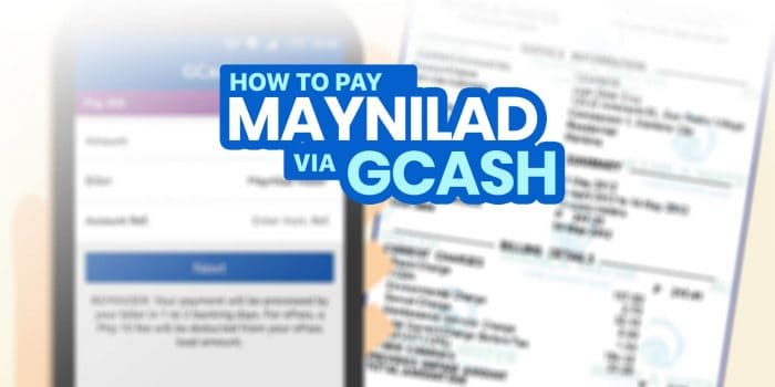 How to Pay MAYNILAD Bill via GCASH