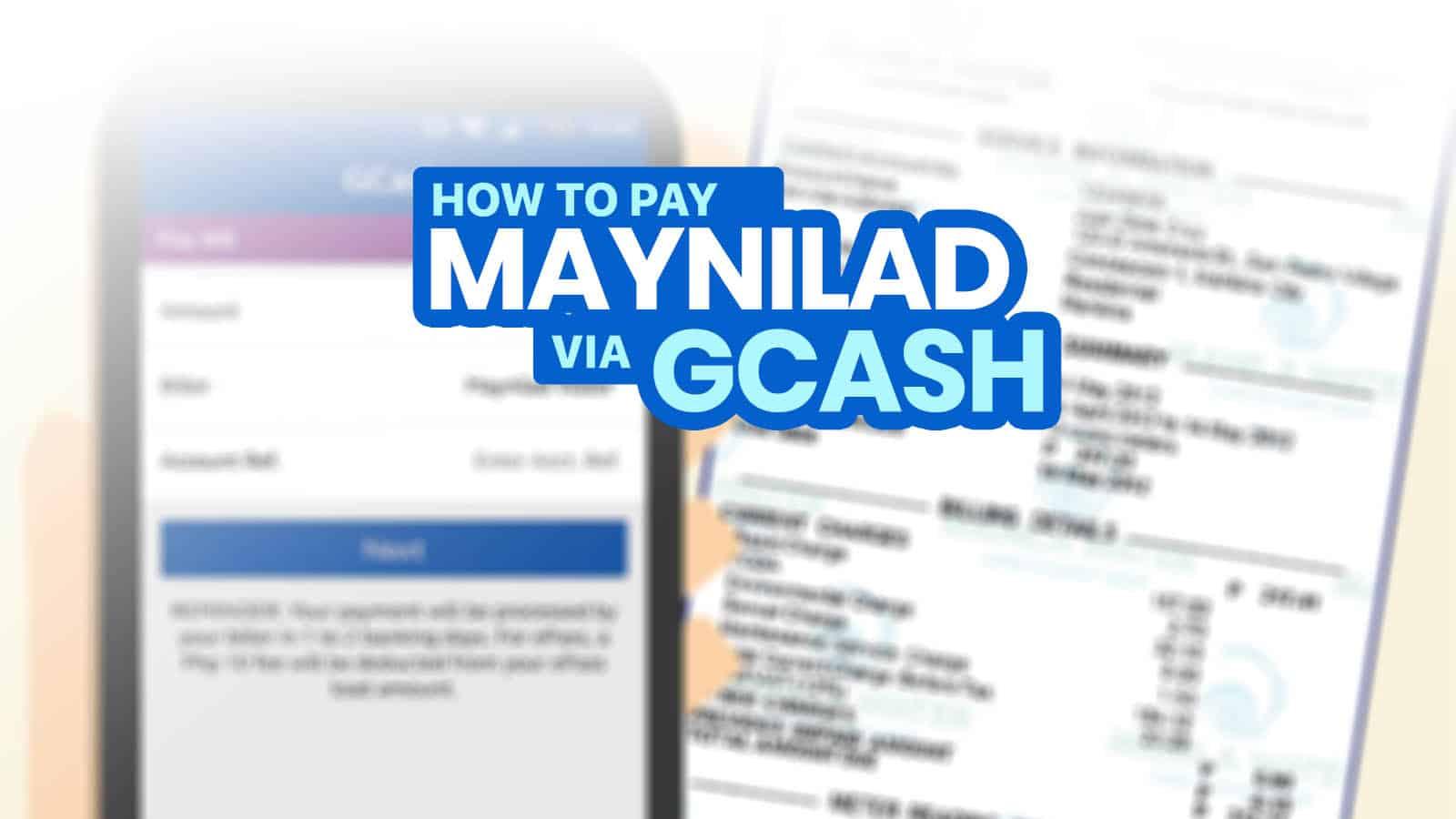 How to Pay MAYNILAD Bill via GCASH