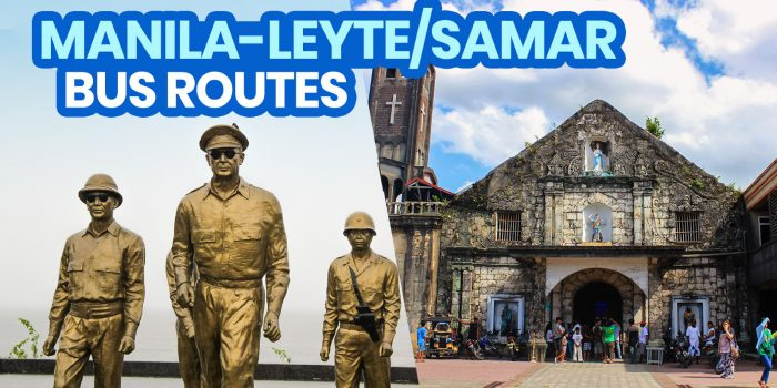 MANILA TO LEYTE & SAMAR by BUS: List of Operational Routes