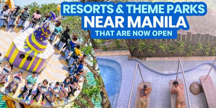 12 RESORTS & THEME PARKS NEAR MANILA (New Normal)