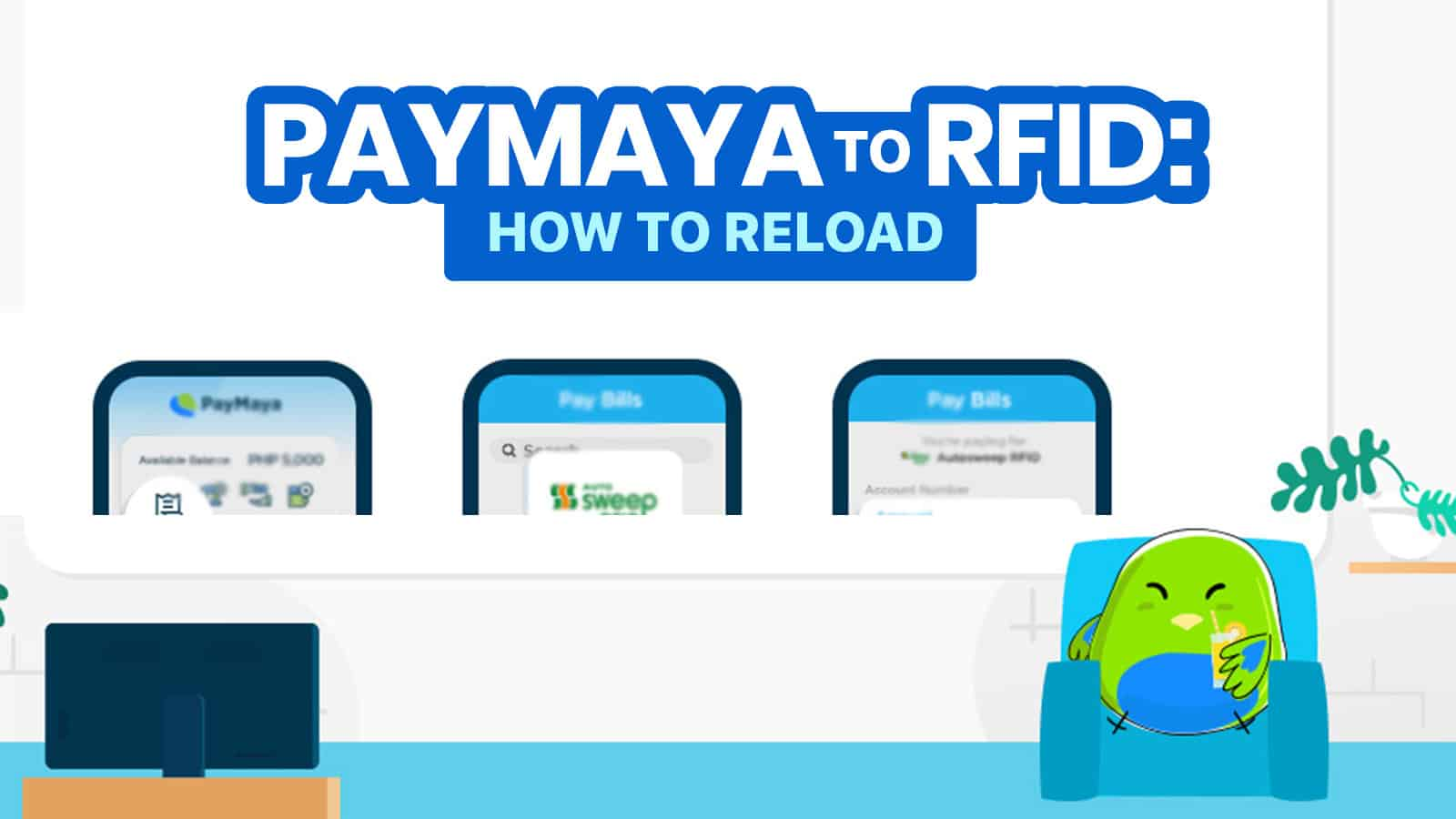 PAYMAYA TO RFID: How to Reload Autosweep & Easytrip