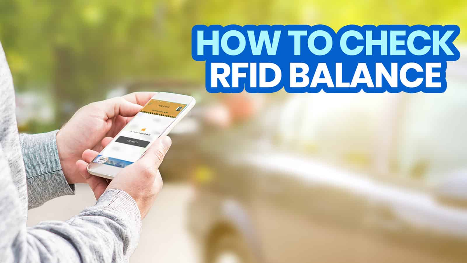 HOW TO CHECK RFID BALANCE 2021: EASYTRIP & AUTOSWEEP Balance Inquiry