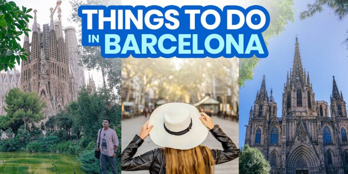 BARCELONA: 25 Best Things to Do & Places to Visit