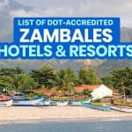 ZAMBALES: List of DOT-Accredited Hotels & Resorts (Open in New Normal)