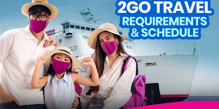 2GO TRAVEL REQUIREMENTS & FERRY SCHEDULE (New Normal)