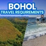 New Normal BOHOL TRAVEL REQUIREMENTS & Policies