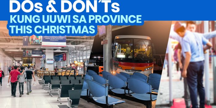 12 DOs and DON'Ts Kung Uuwi sa Probinsya This CHRISTMAS