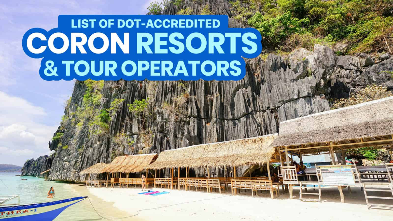 2021 List of DOT-Accredited CORON Resorts, Hotels & Tour Operators (Open Now or Soon)