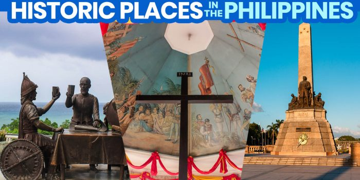 25 HISTORICAL PLACES IN THE PHILIPPINES Mentioned in HEKASI / SIBIKA Books