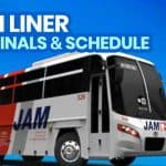 JAM LINER BUS: Open Terminals, New Schedule & Fares (New Normal)