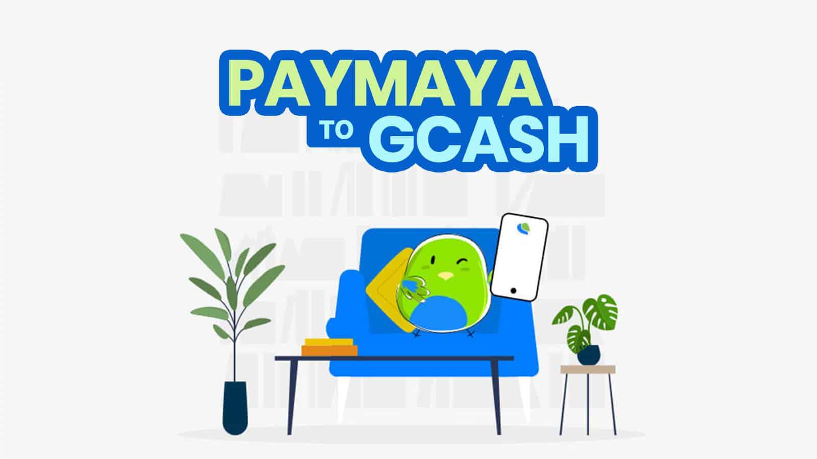 PAYMAYA TO GCASH: How to Transfer Money or Payment Using PayMaya App