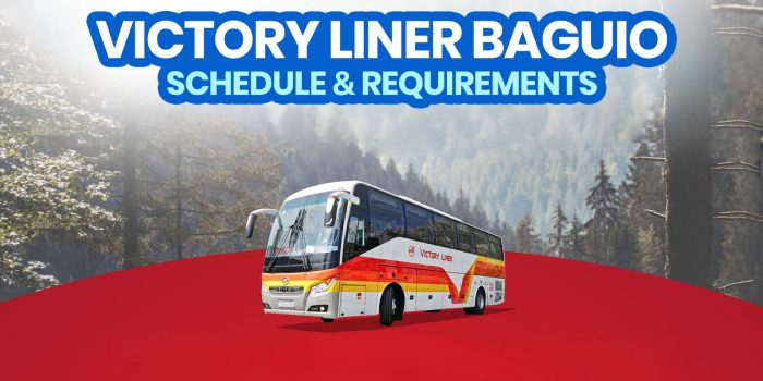 VICTORY LINER BAGUIO: 2021 Bus Schedule & Travel Requirements (Manila & Olongapo)