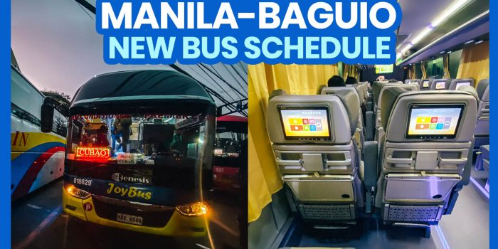 2021 MANILA TO BAGUIO TO MANILA BUS SCHEDULE: Victory Liner, Genesis & JoyBus