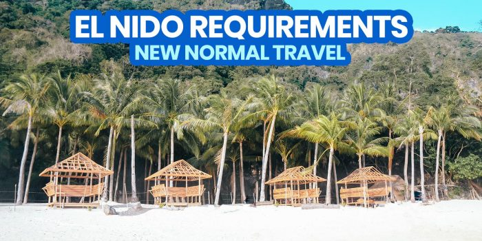 New Normal: EL NIDO TRAVEL REQUIREMENTS & POLICIES (Palawan)