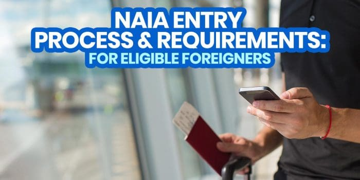 2021 MANILA AIRPORT ARRIVAL Process & Requirements for FOREIGNERS (NAIA International Flights)