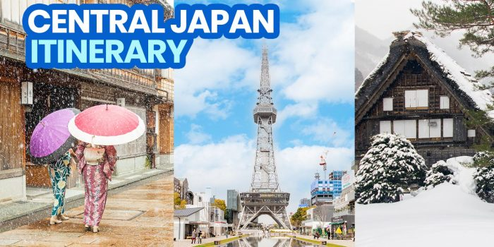 CENTRAL JAPAN ITINERARY: 5 Days in Nagoya, Shirakawago, Kanazawa & More!