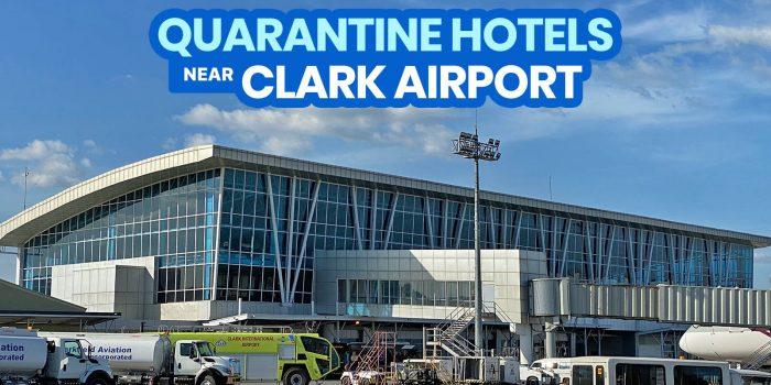 2021 List of DOH-BOQ-Accredited QUARANTINE HOTELS Near CLARK AIRPORT