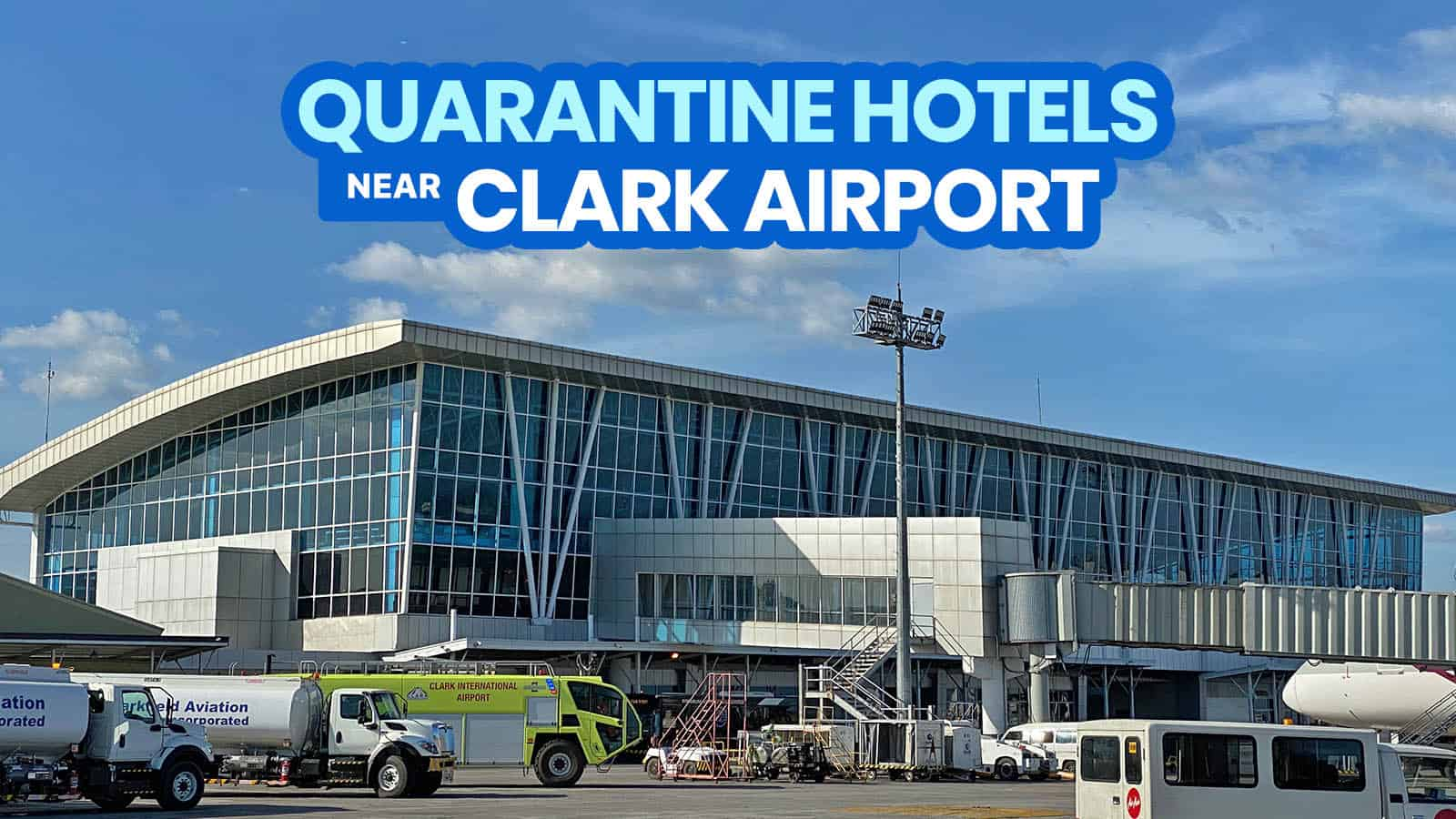 2021 List of DOH-BOQ-Accredited QUARANTINE HOTELS Near CLARK AIRPORT