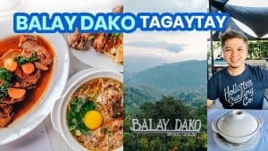BALAY DAKO TAGAYTAY: New Normal Travel Guide + Menu 2021